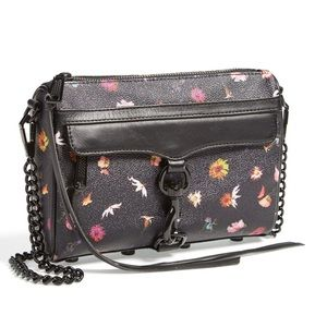 Rebecca Minkoff Floral Mini Mac Crossbody Bag